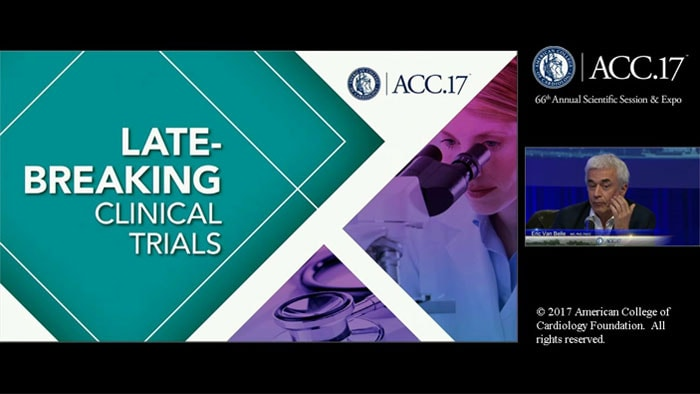 ACC 17 instantaneous wave free ratio vs fractional flow reserve guided intervention