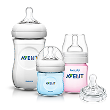 Philips Avent Natural 奶瓶及奶嘴系列