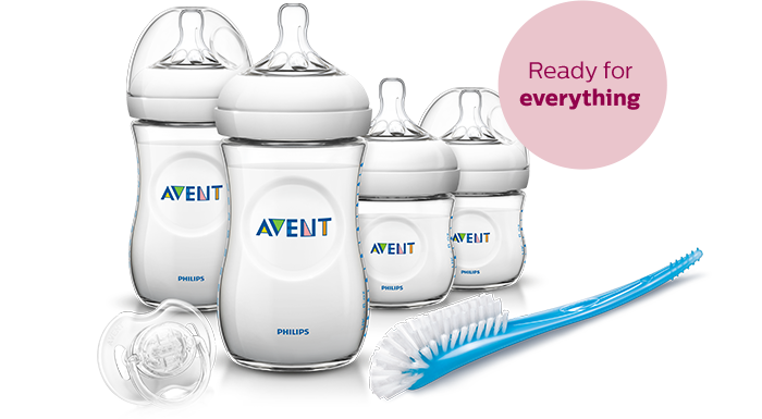 Philips Avent Baby Bottle starter sets