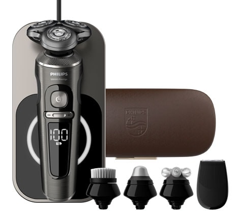 Philips S9000 Prestige SP9880 with accessories