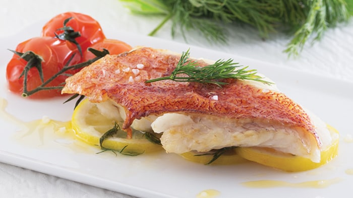 Baked Grouper with Dill, Butter and Lemon