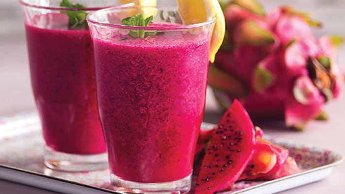 Pitaya and Coconut Drink