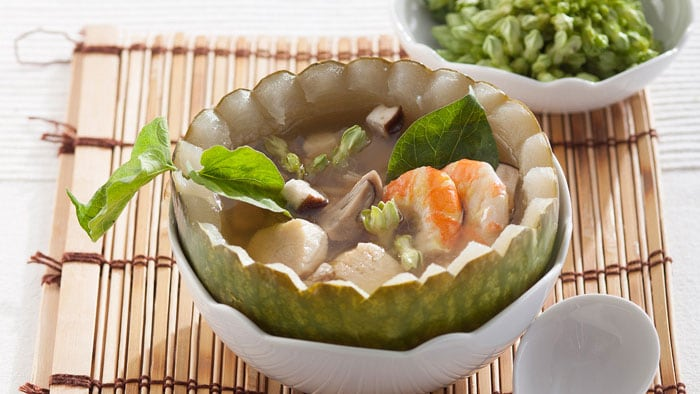 Winter Melon Scallop Soup