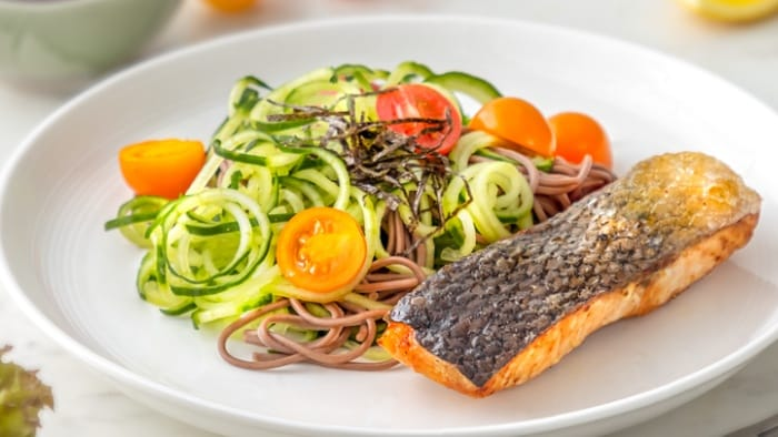 Salmon-and-Cucumber-soba-noodles